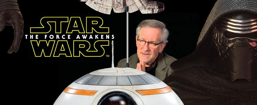 "Spielberg says The Force Awakens could be ""biggest movie ever"""