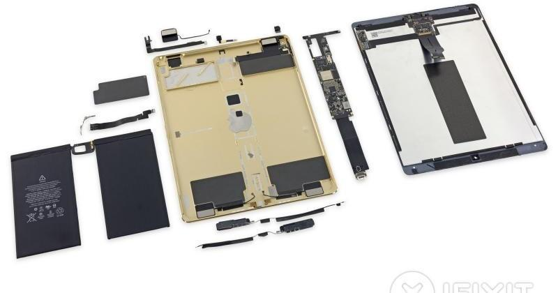 iPad Pro iFixit discoveries: space-eating speakers, gobs of glue