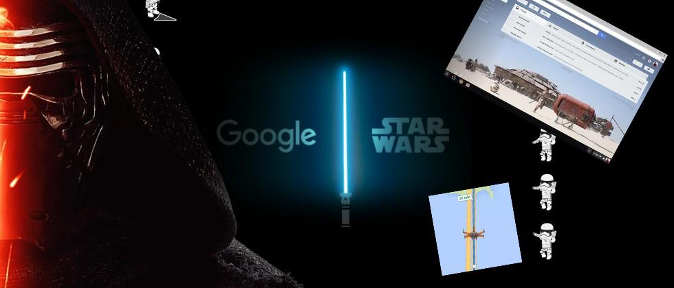 Google Star Wars poll: are you light side or dark?