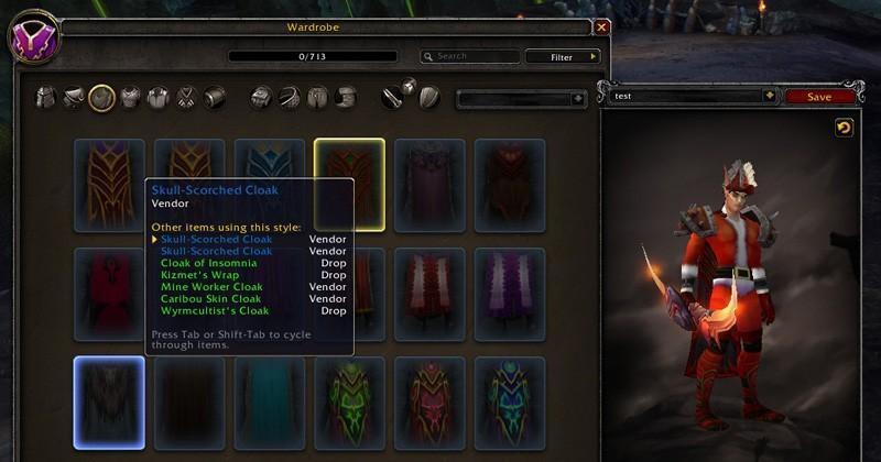 WoW to get a wardrobe update in Legion