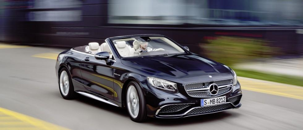 Mercedes-AMG S 65 Cabriolet cuts roof from V12 torque-beast