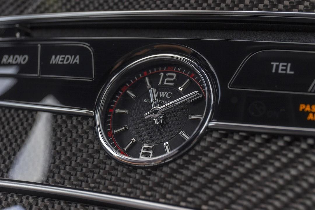 Mercedes-AMG C 63 S Coupe IWC Schaffhausen | press photo