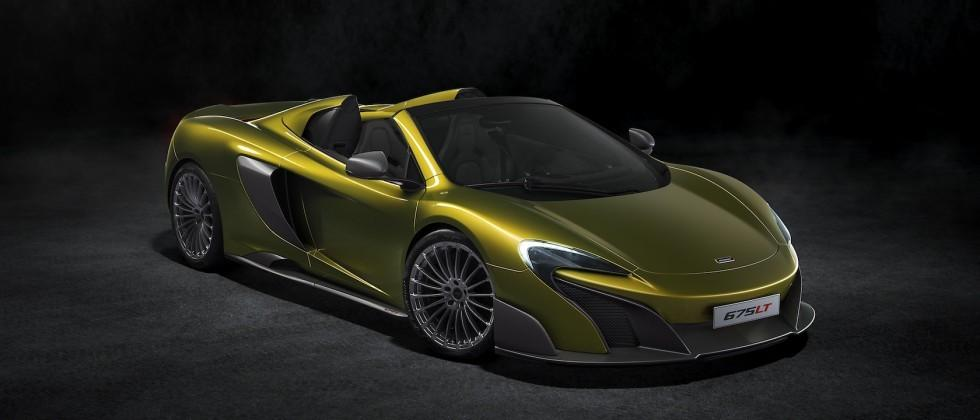 McLaren 675LT Spider drops roof for ultra-extreme supercar