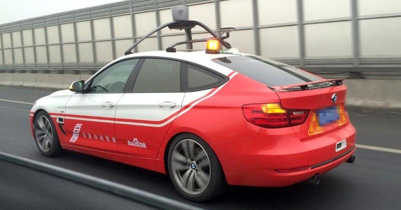 Baidu's self-driving car passes mixed road test with flying colors