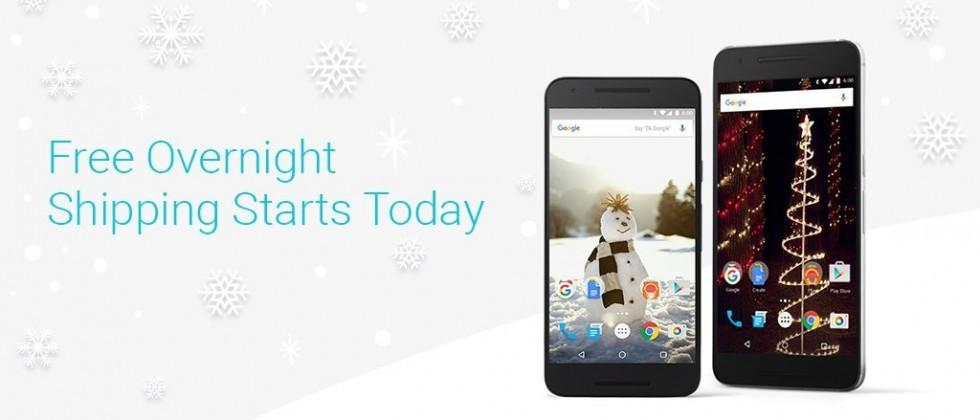 Google gives Nexus 5X, 6P a holiday price cut