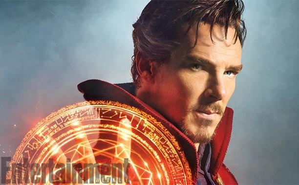 Marvel's Doctor Strange: first Cumberbatch image published