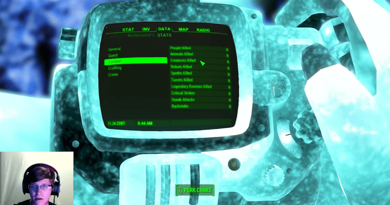 Fallout 4 beaten with zero kills, but not without consequences