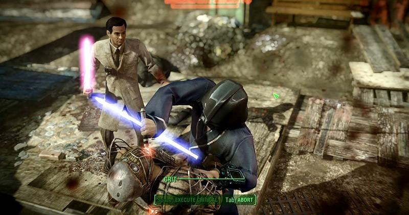Fallout 4 gets lightsabers with this new mod