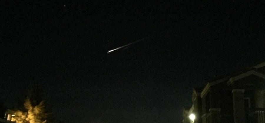 Last night's fireball over California was Russian space junk