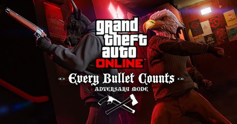 GTA V's Every Bullet Counts mode only gives you two shots