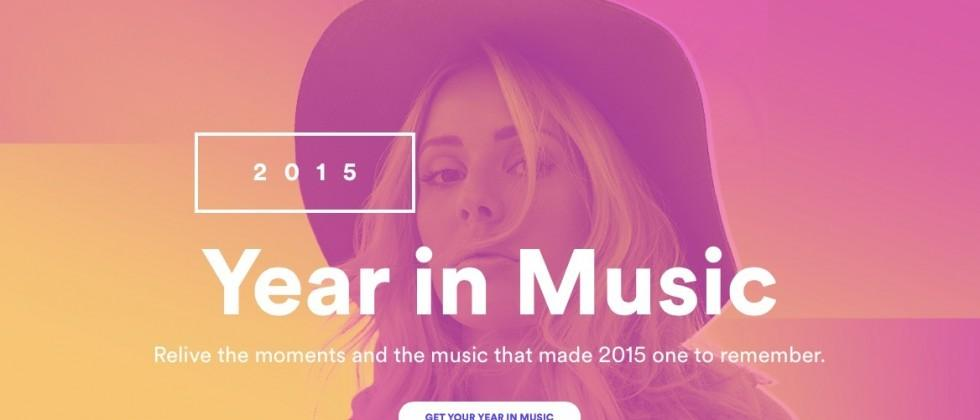 Spotify Year in Music 2015 launches with personal listening habits