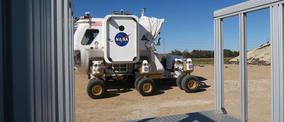 NASA Moon Rover ride-along