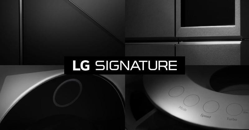 New premium LG SIGNATURE line to be unveiled at CES 2016