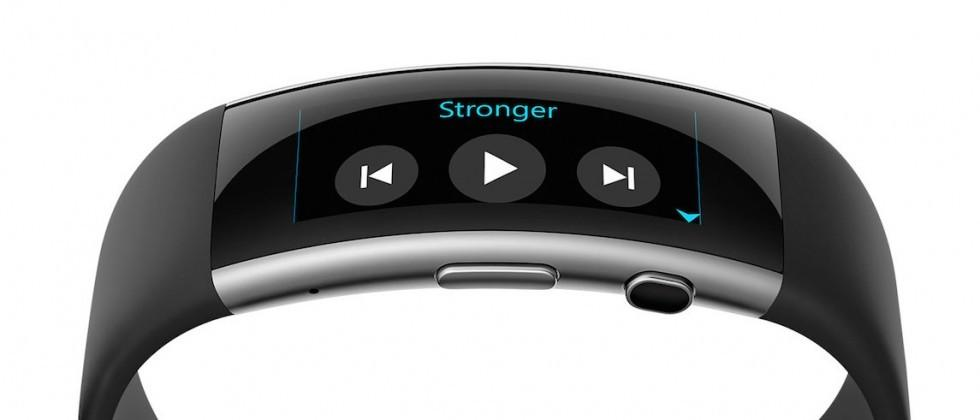 Microsoft Band updated with music controls, activity reminders