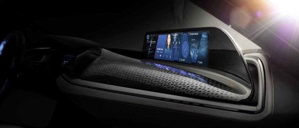 BMW debuts AirTouch concept, turning car interior into contactless touchscreen