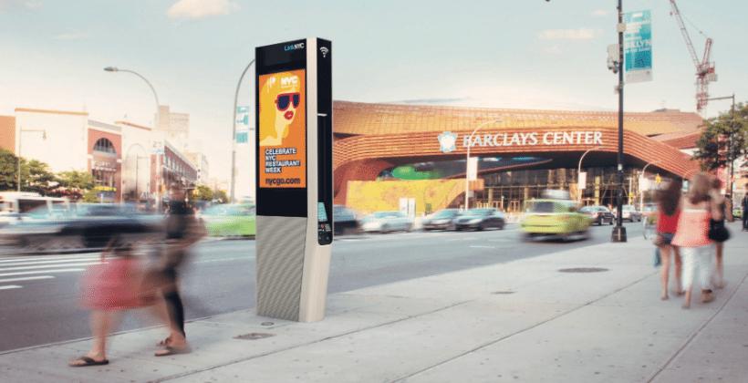 NYC breaks ground on free gigabit WiFi kioks