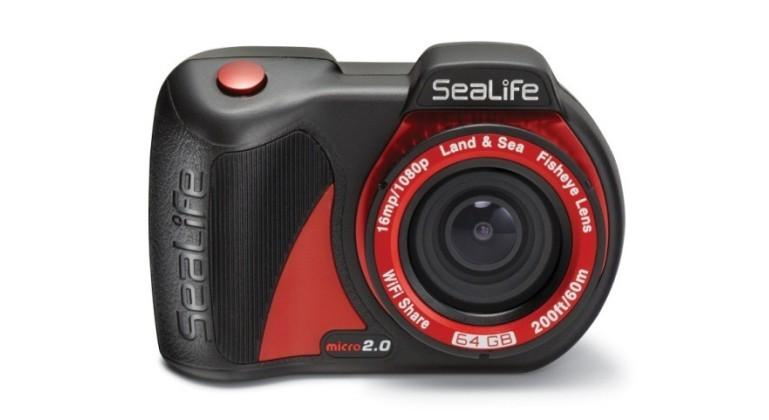 SeaLife Micro 2.0 camera is waterproof to 60m, no case required