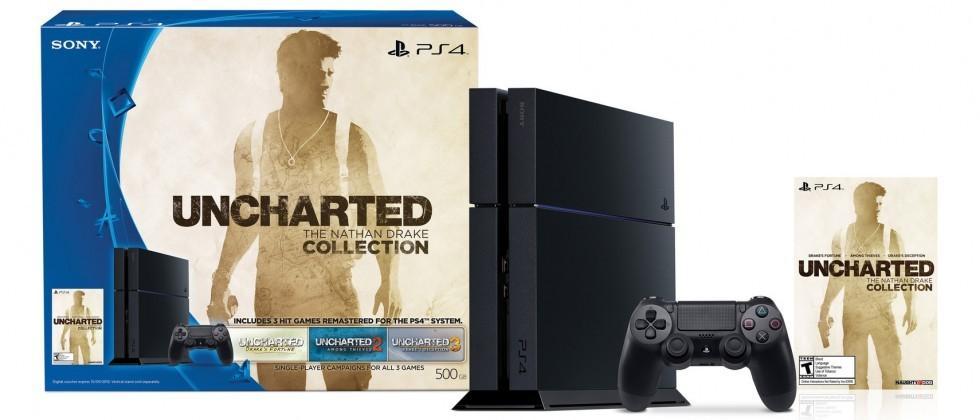 PS4 Battlefront and Uncharted bundles arrive December 6