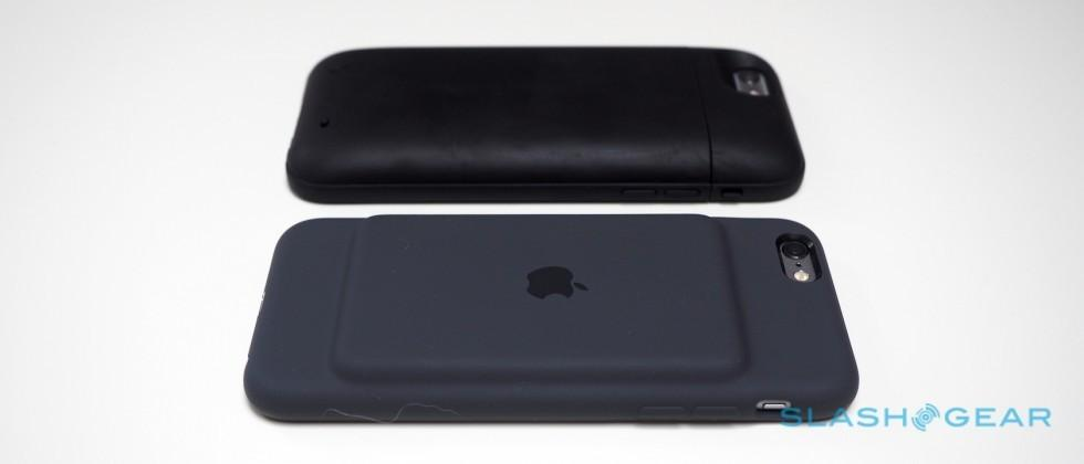 Apple Smart Battery Case Vs Mophie Oh My God Becky Slashgear The battery case market is heating up with additional models hitting the market each month. apple smart battery case vs mophie oh