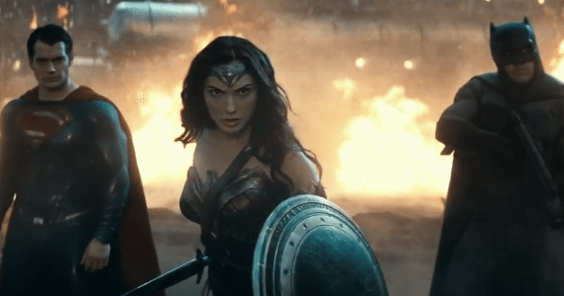 Wonder Woman sets her foot down in latest Bats v Supes clip