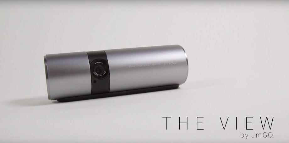 JmGO View is an Android-powered projector capable of 180-inch images
