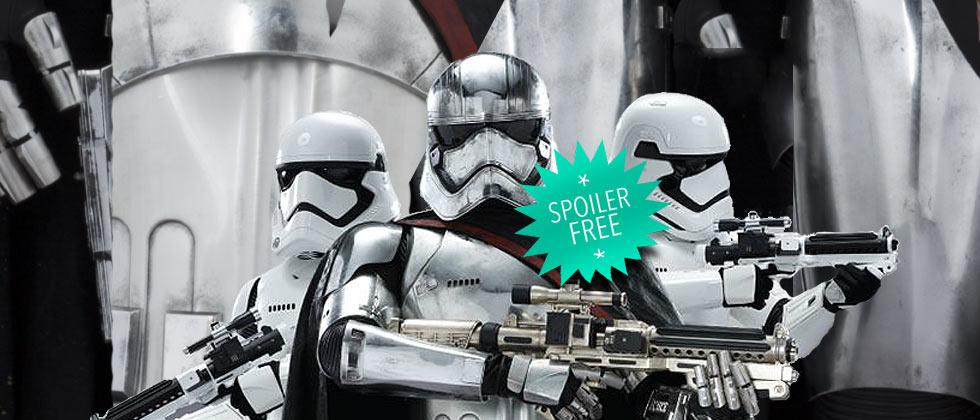 Star Wars: The Force Awakens – who is Captain Phasma?