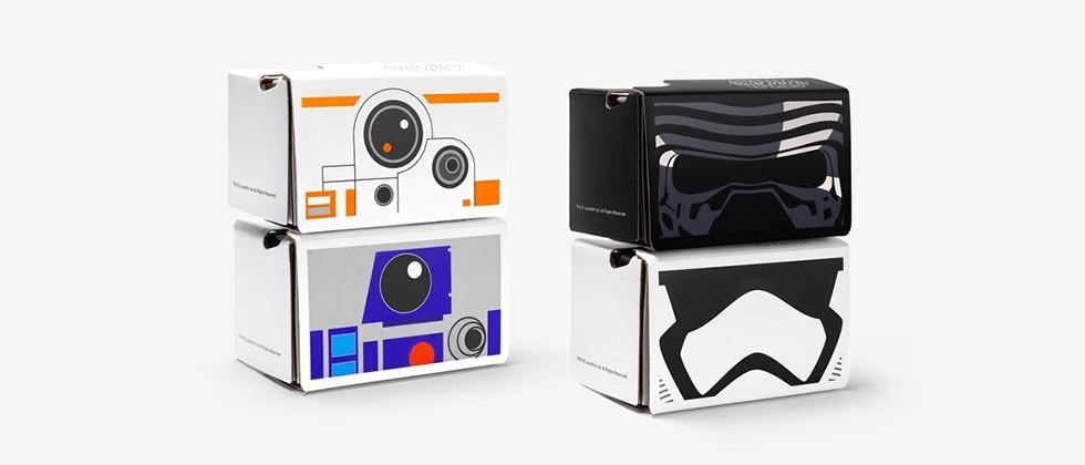 Google's giving away Star Wars Cardboard VR headsets