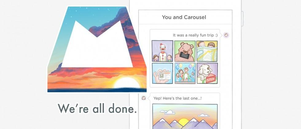 Dropbox trashes Mailbox and Carousel