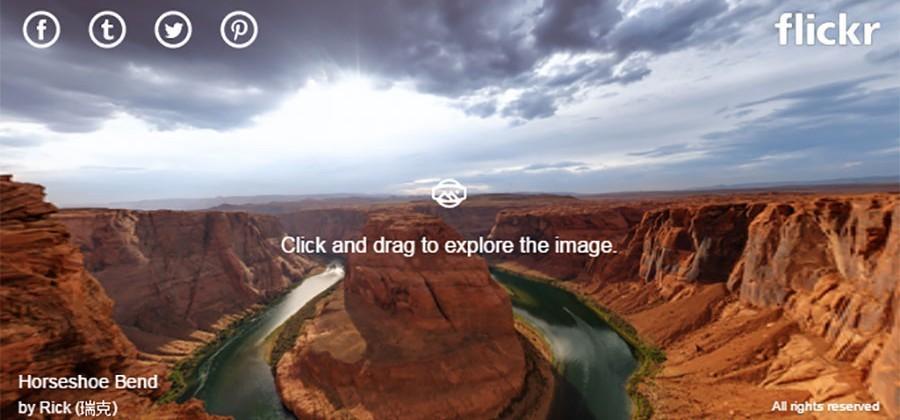 New Flickr app supports Samsung Gear VR
