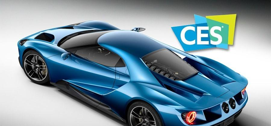 Ford GT heading to CES 2016