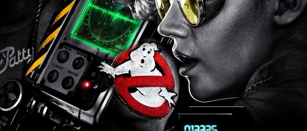 "Ghostbusters black posters revealed alongside ""first"" cast picture"