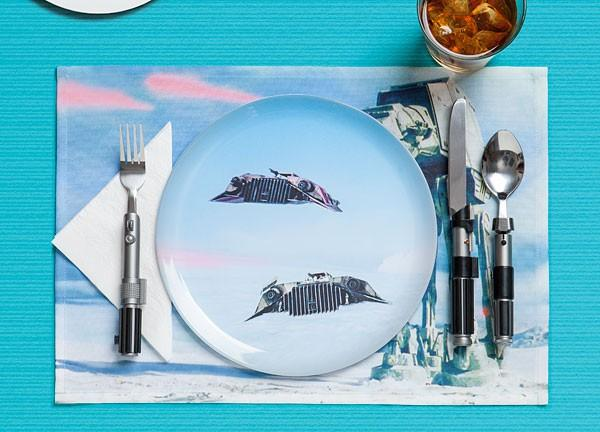 'Use the fork, Luke' with these Star Wars eating utensils