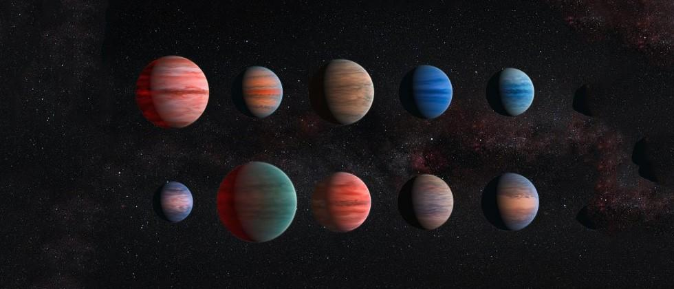 "Hubble reveals ""hot 10"" Jupiter-like planets"