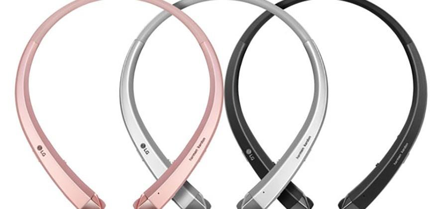 LG HBS-910 and HBS-900 Bluetooth neckband headsets to debut at CES 2016