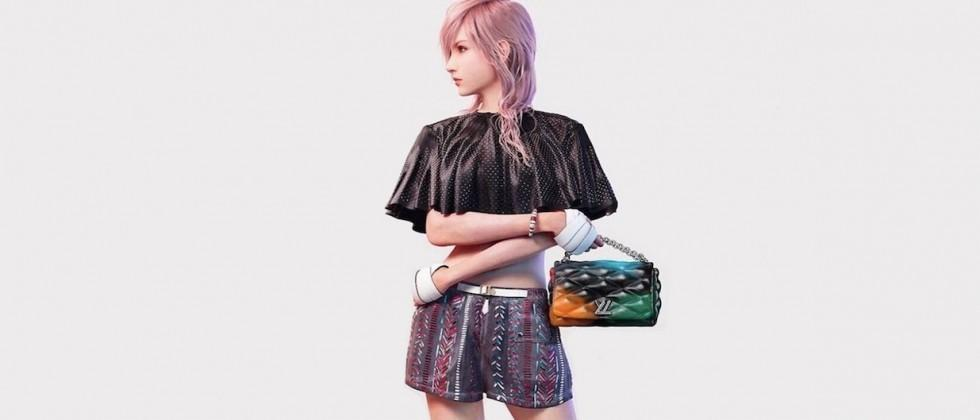 Final Fantasy XIII character is Louis Vuitton's newest model