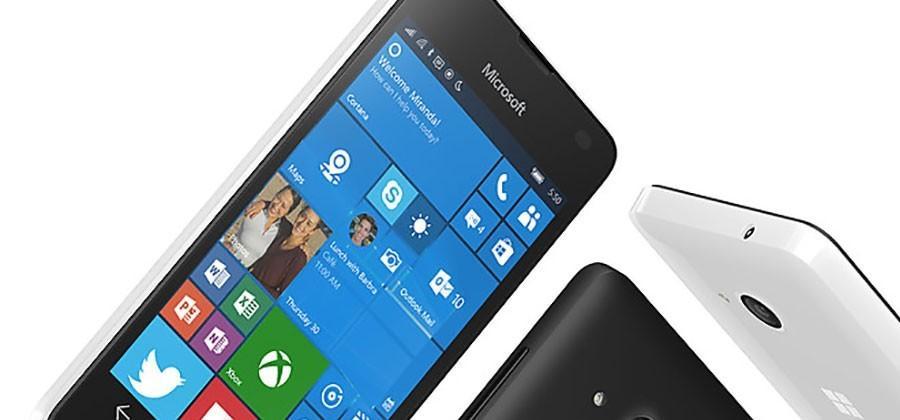 Microsoft Lumia 550 brings Windows 10 to budget shoppers