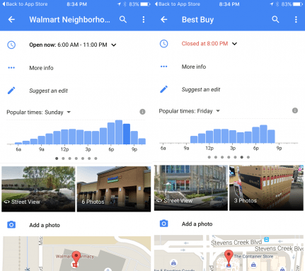Nearest Cheapest Gas Station >> Google Maps On Ios Now Shows Business Hours Gas Prices