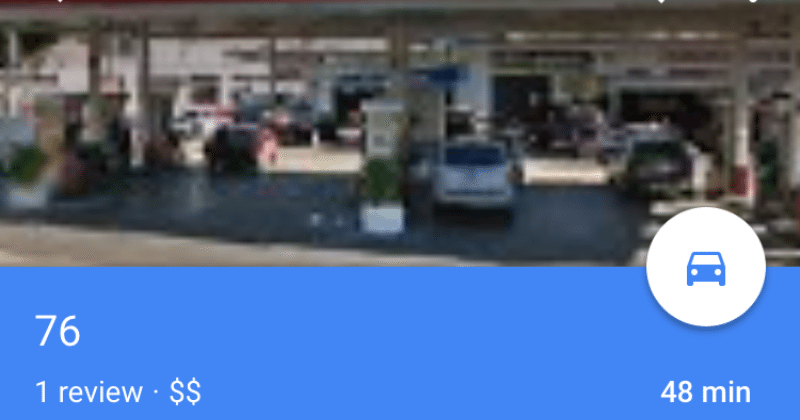 Google Maps on iOS now shows business hours, gas prices