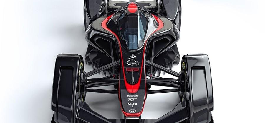 McLaren MP4-X F1 concept is brain-controlled