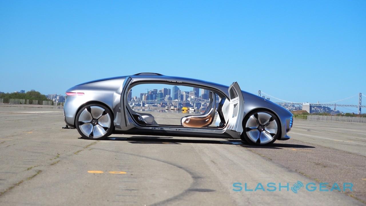 Mercedes Benz self-driving car prototype