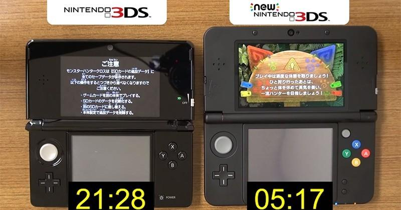 Nintendo video compares New 3DS loading times against its predecessor