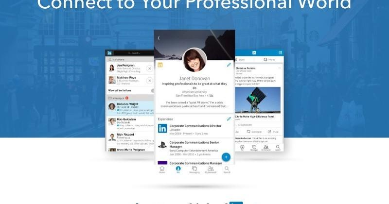 LinkedIn rolls out redesigned iOS, Android apps