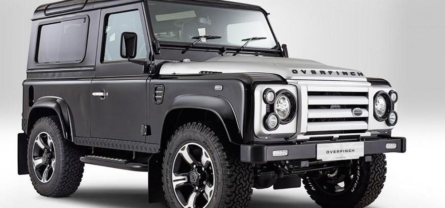 Overfinch gives the Land Rover Defender upscale appeal