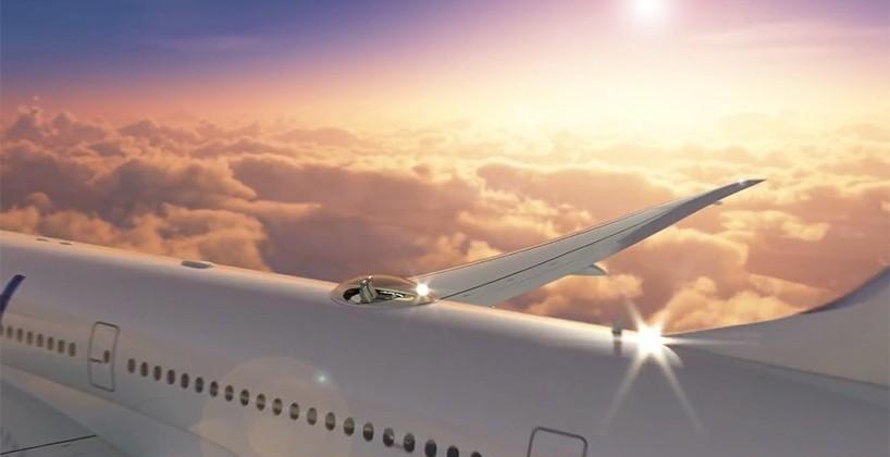Windspeed's SkyDeck puts luxury seats on top of a plane