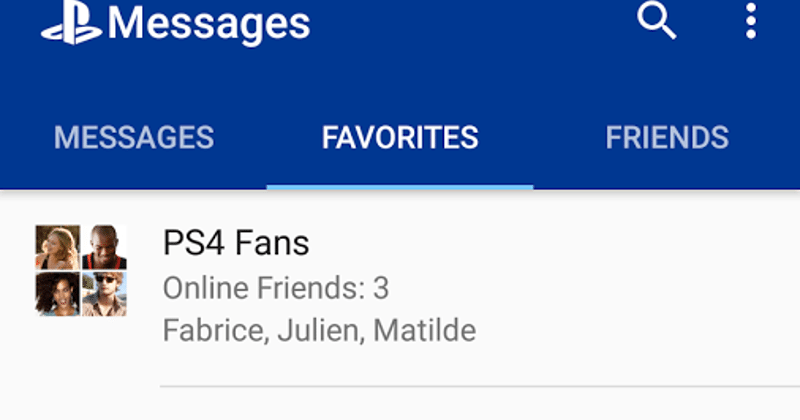 Sony breaks out PlayStation Messages into its own app