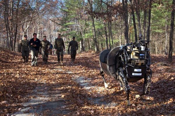 DARPA's BigDog robot put to pasture for being too noisy