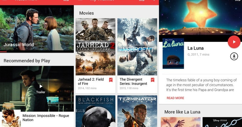 Google Play Movies & TV now supports Apple TV, cellular streaming