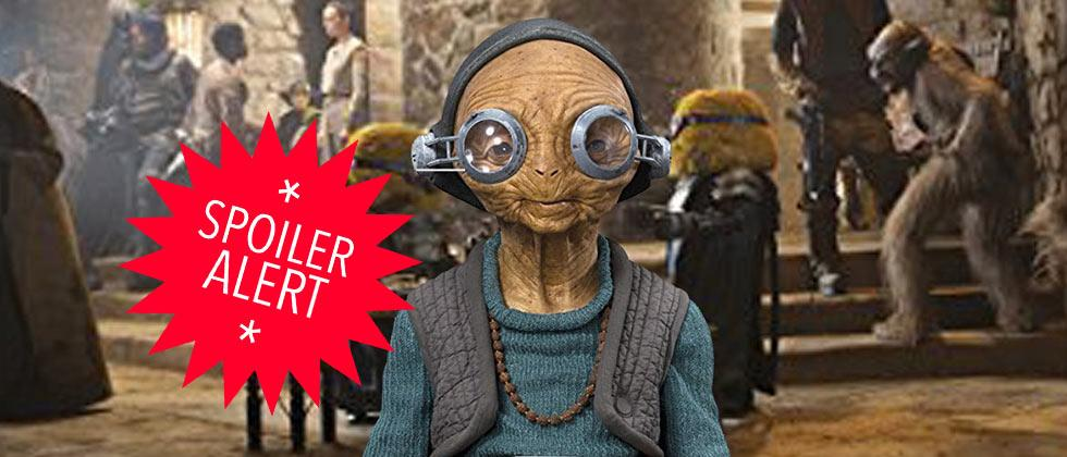 Star Wars: The Force Awakens – Who is Maz Kanata?