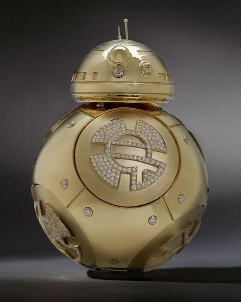 Star Wars BB-8 made from $135K in gold, diamonds by Kay Jewelers