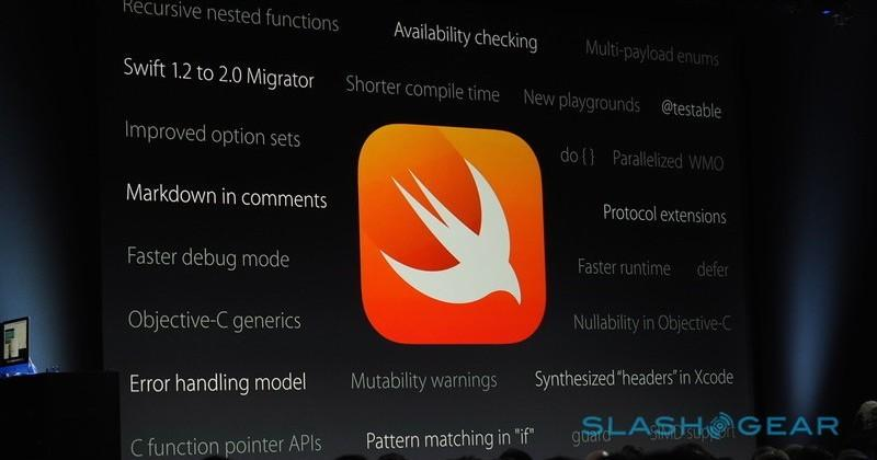 Apple programming language Swift goes open source